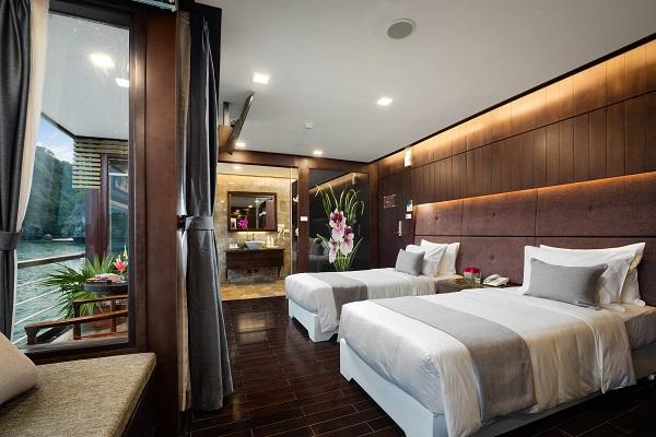 Premium suite cabine-bateau Orchid