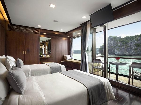 suite cabin balcony-bateau Orchid