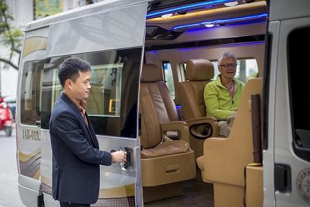 minibus-navettte partagée Indochina Junk